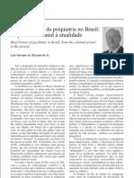 Breve histórico da psiquiatria no Brasil