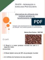 FA 674 – Introdução à Tecnologia Pós-Colheita