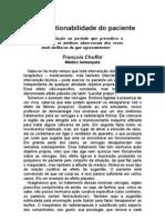 A Sugestionabilidade Do Paciente - A Convicção Do médico - François Choffat - a - Prevenção
