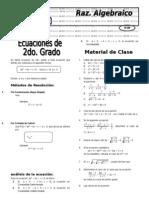 X  10  Ecuac 2° grado