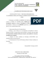 CONVOCAÇÃO N 01.2012 - 1 REUNIÃO EXTRAORDINÁRIA