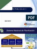 9Presentación_Inversión_Pública_2011 Guatemala