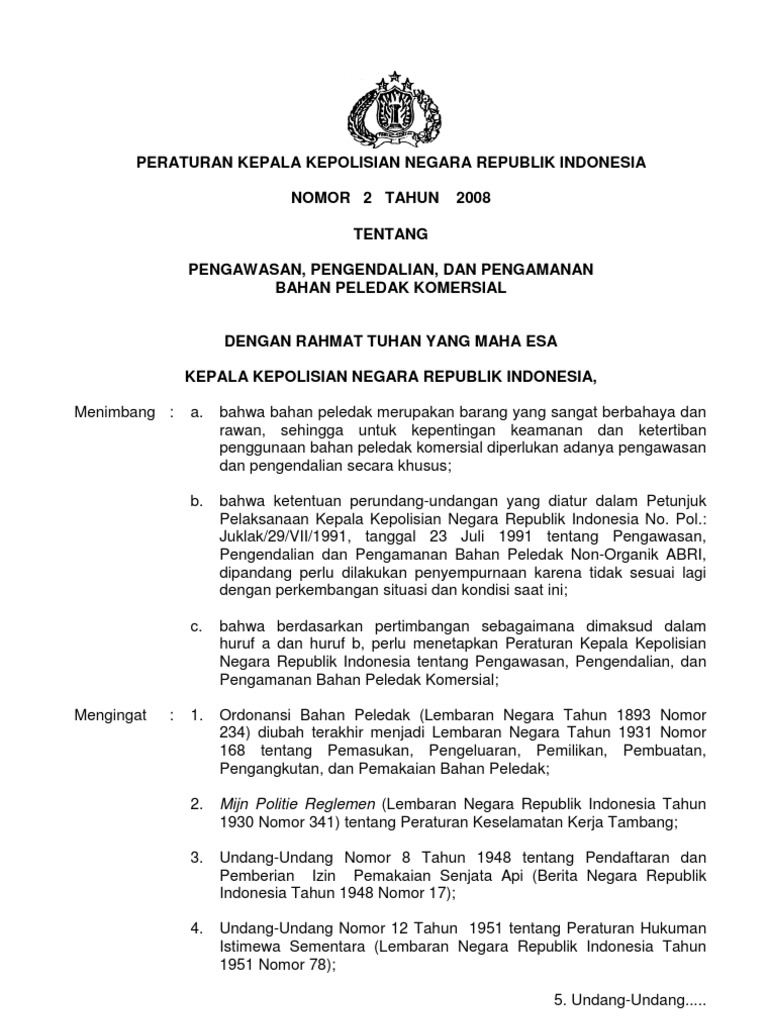 peraturan-kapolri-no-2-thn-2008-bahan-peledak