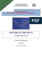 EEC 239 Electric Circuits 1