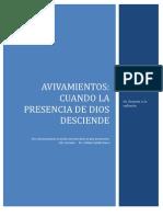 Avivamientos,Cuando La Presencia Transform Ad or A de Dios Desciende