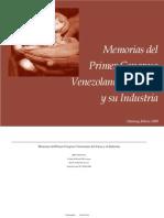 Memorias 1er Congreso Vzlno de Cacao_Fundacite Aragua
