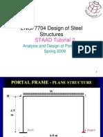 Tutorial2 STAAD Steel Design