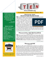 TEN Newsletter Spring 2012