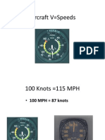 Aircraft v=Speeds