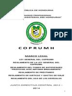 Ley Coprumh y Su to Para El Libro
