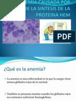Anemia Por Deficit de Sintesis Del Grupo HEM