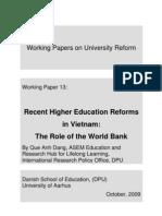 Recent HE Wth Worldbank
