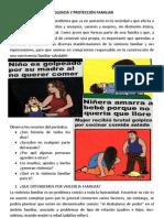 VIOLENCIA Y PROTECCIÓN FAMILIAR