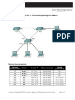 Act05 - Protocolo Spanning Tree Básico