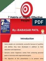 7 Habits Ppt @ Bec Doms Bagalkot Mba