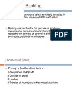 Bank and Banking Ppt Bec Bagalkot Mba