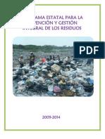 Programa estatal de prevención y gestión de residuos