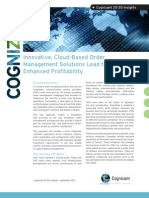 Innovative, Cloud-Based Order Management Solutions Lead to Enhanced Profitability