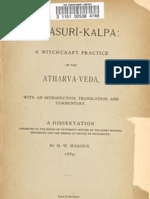 asuri kalpa   Vedas   Mantra