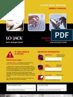 Lojack Early Warning Owners Manual