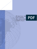 A practical framework for planning pro-development climate policy