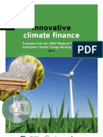 Innovative climate finance