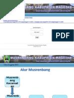 Alur Musrenbang