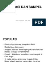 7. Populasi Dan Sampel