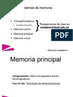 Tema 3 - Memoria Principal