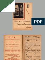 Programa de las fiestas de Montemayor 1945