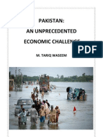 Pakistan an Unprecedented Economic Challenge