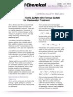 Comparing Ferric Sulfate With Ferrous Sulfate