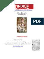 Newsletter #7 del blog dell'Indice dei libri del mese (27 Marzo 2012)