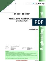 Aerial Line Maintenance Standards