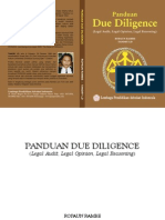 Panduan Due Diligence (Legal Audit, Legal Opinion, Legal Reasoning)