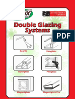 1-18 Easy Fix Double Glazing Counter Price List