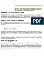 Build Effective Project Teams