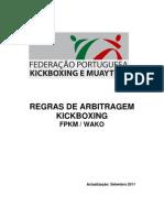 REGRAS DE ARBITRAGEM