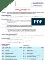 Bachelor of Technology Civil