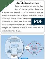 RJS Product & Service Design