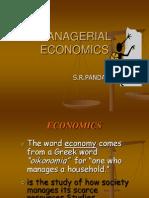 Managerial Economics Class1