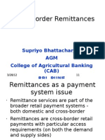 Cross Border Remittances