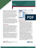NetIQ PB Sentinel 7 Datasheet