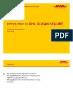 Customer Presentation - Introduction DHL OCEAN SECURE
