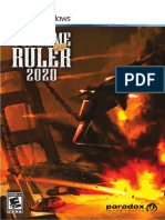 Supreme Ruler 2020 Manual