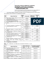 APPSC Steno Lecturer Engineers Notification