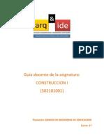 Construcciones I Guia Del Docente