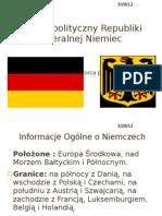 System Polityczny Republiki Federalnej Niemiec