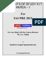 UPSC CSAT Paper 1