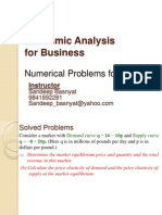 Extra Session-Numerical Problems With Calculus